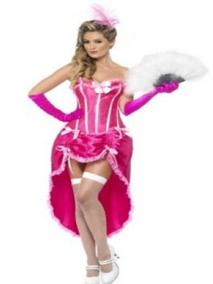 Pink Burlesque dancer Costume
