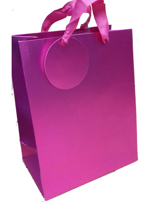 Pink Mat Metallic bag