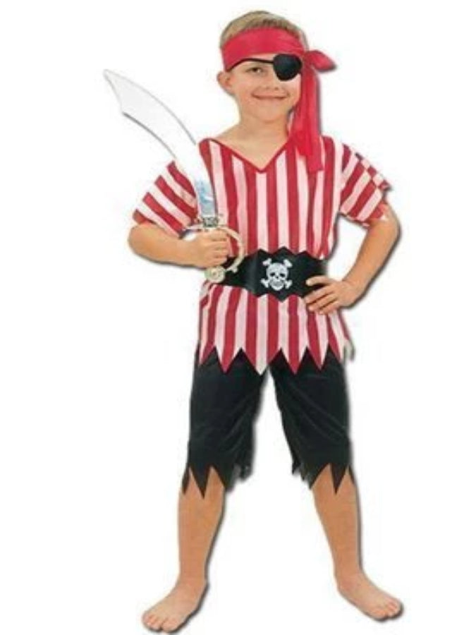 Pirate Boy Children's costume