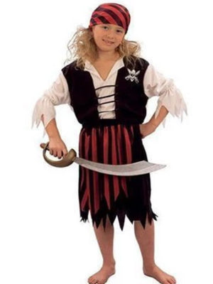 Pirate Girl Children's costume