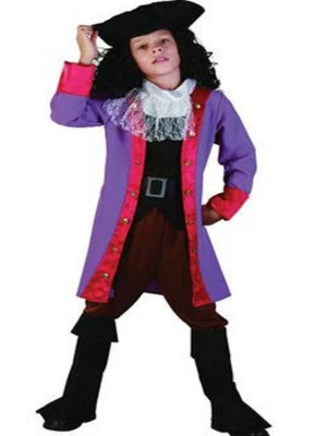 Captain Pirate Hook Children's costume