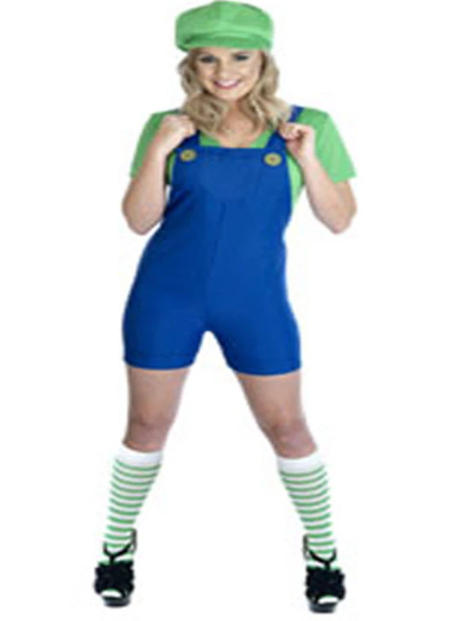 Plumbers Mate Green Luigi Costume