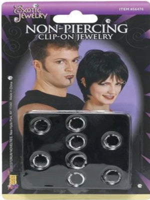 Punk Clip On Body Piercing