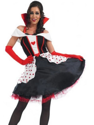 Queen Of Hearts Longer Length Costume