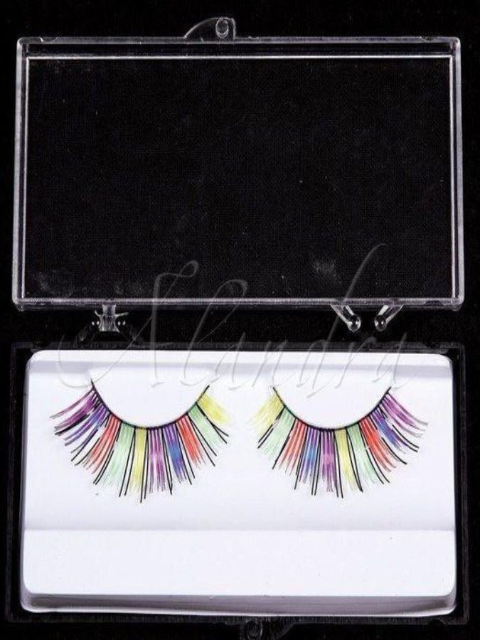 Rainbow Eyelashes 2