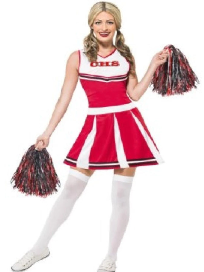 ece1e8d5bb Red Cheerleader costume | Athlone Jokeshop and Costume Hire