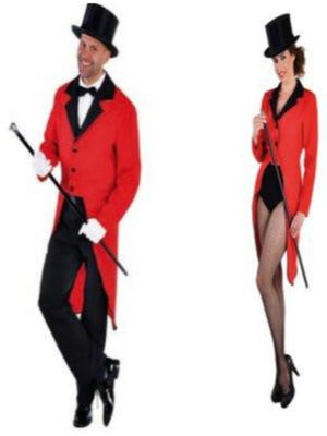 Red Tailcoat For Hire