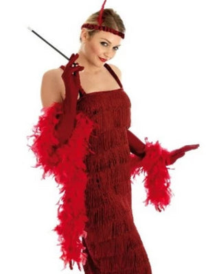 ROARING 20'S GIRL RED Costume
