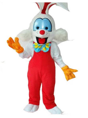 Roger rabbit look a like Mascot Costume Hire