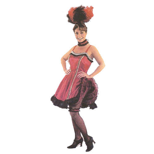 Saloon girl short Costume Hire