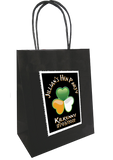 Personalised hen party gift bag shamrock design