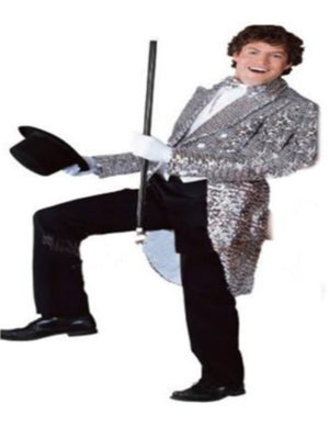 Silver Sequin Tailcoat costume hire For Hire  sc 1 st  JokeShop.ie & Hire Costumes | Athlone Jokeshop and Costume Hire Page 4