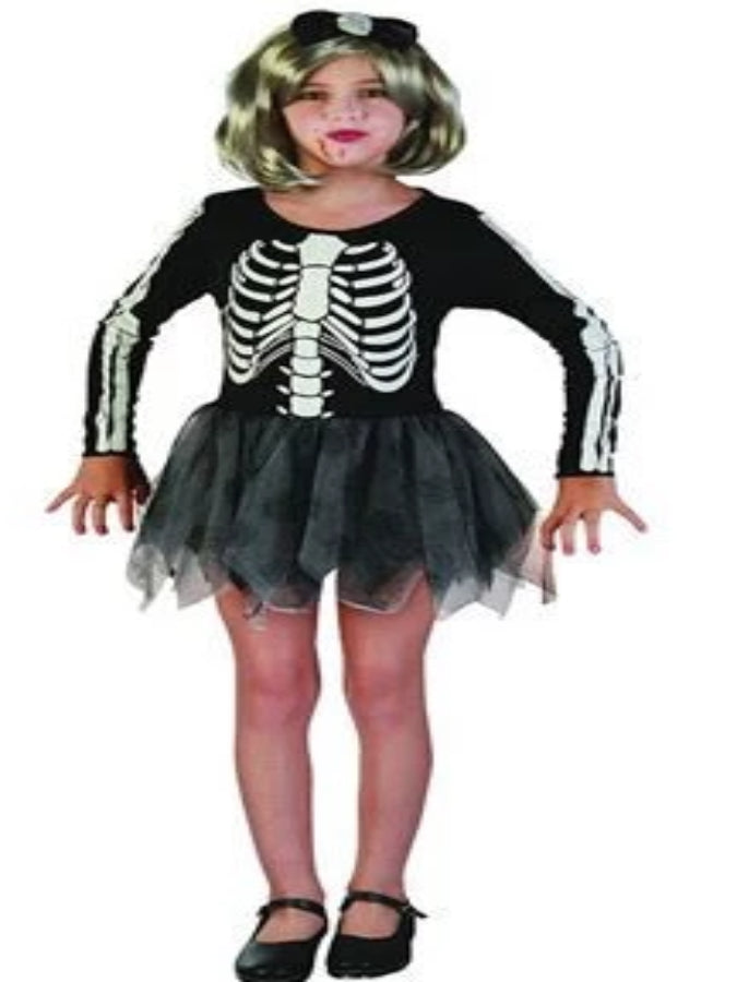 Skeleton Girl costume