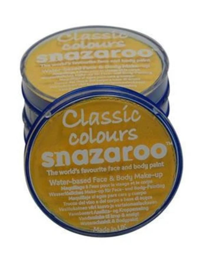 Snazaroo Bright Yellow Facepaint 18ml