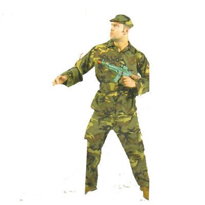 soldier camouflage Costume Hire