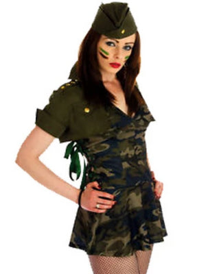 Special Forces Girl Costume