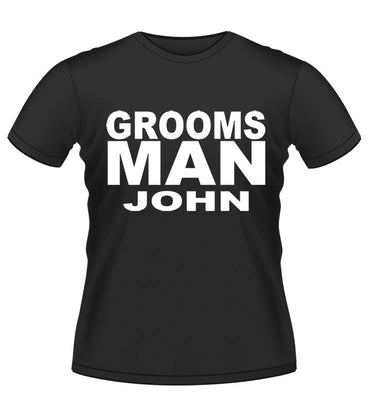 STAG T-SHIRT- GROOMS MAN