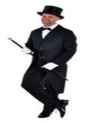 Tailcoat Black For Hire