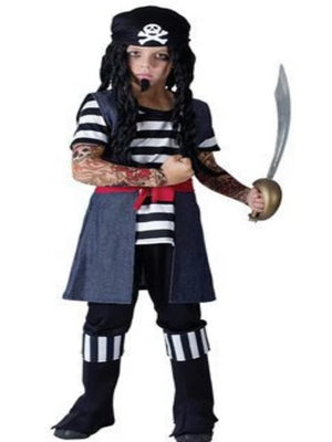 Tattoo Pirate Boy Children's costume