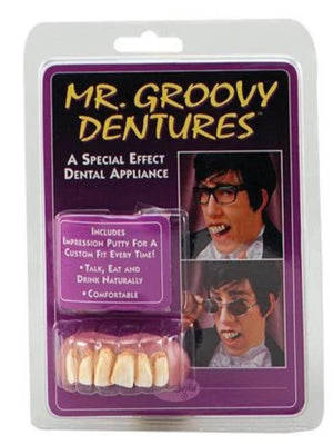 Teeth Mr Groovy With Dental Putty