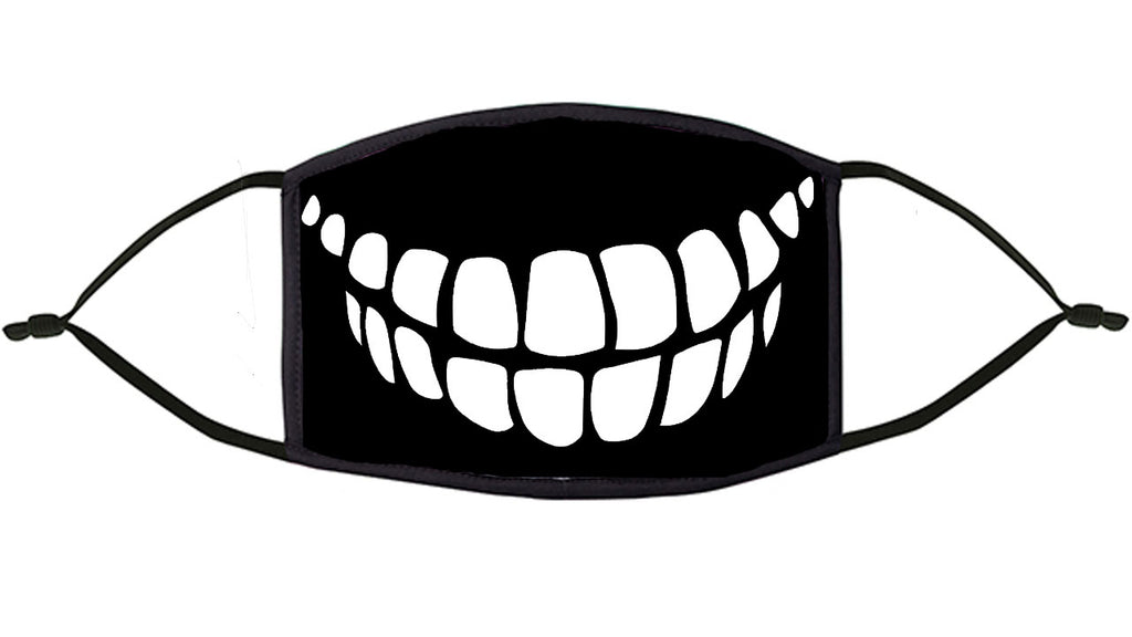 Teeth Design Re-Usable Face Mask