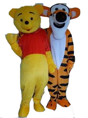 tigger and winnie the pooh look a like