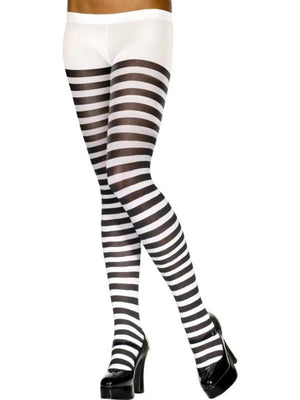 Tights White And Black