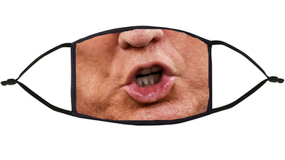 Trump Design Re-Usable Face Mask