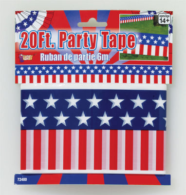 USA 20' Party Tape