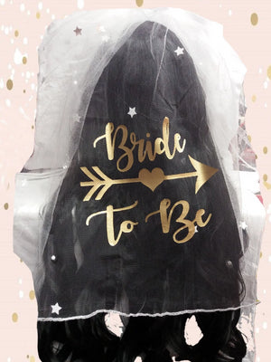 'Bride to Be' Hen Party Veil