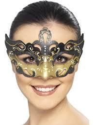Venetian Colombina Cut Out Masquerade Eyemask