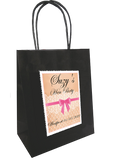 Personalised Vintage Lace Design Hen Party Bag