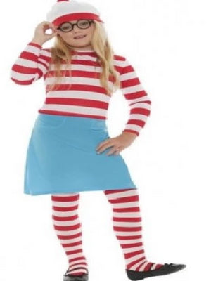 Where's Wally? Wenda Children's costume