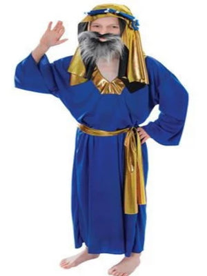 Wise Man Blue Children's costume