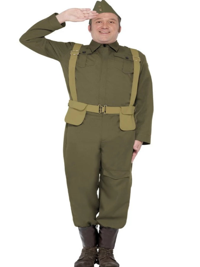 Ww2 1940s Home Guard Private Costume