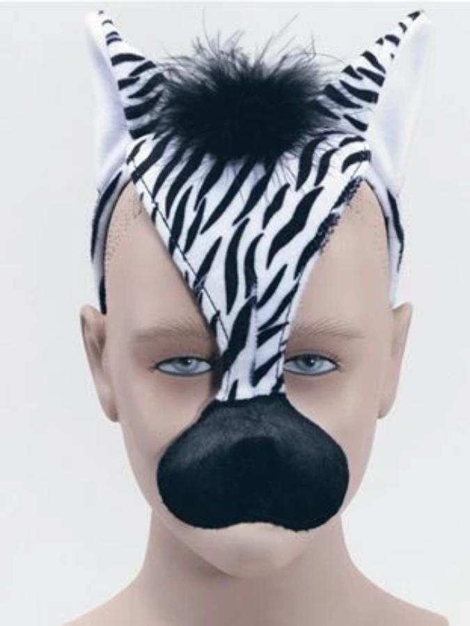 Zebra With Sound Mask