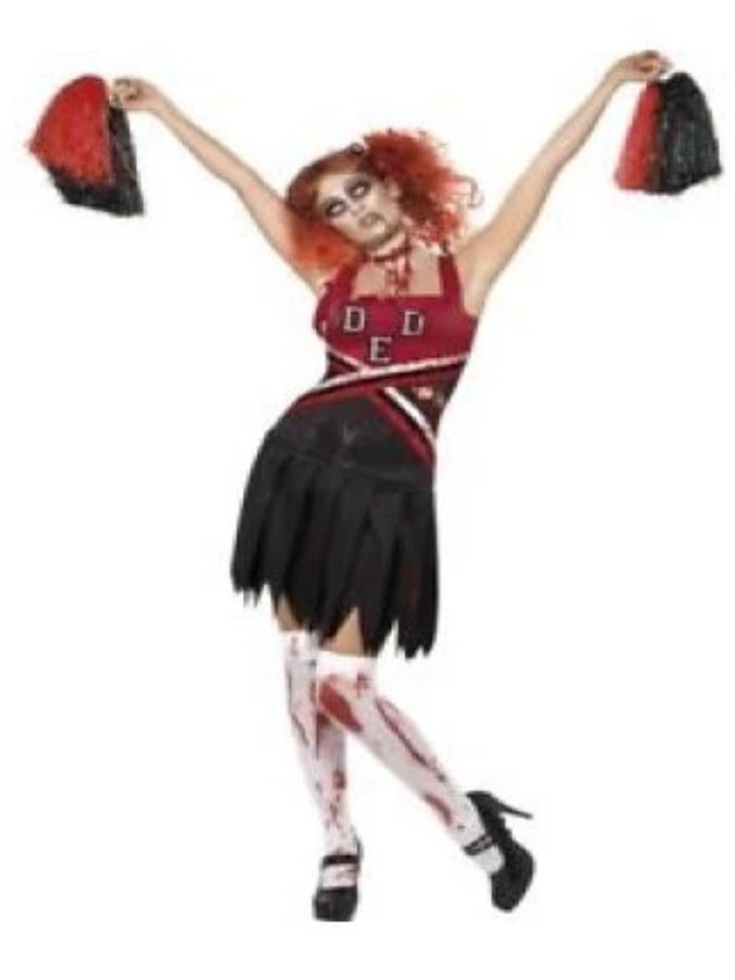 Zombie High School Cheerleader Costume