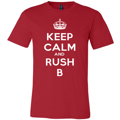 KEEP CALM RUSH B T-SHIRT