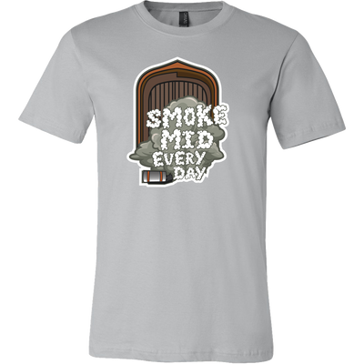 SMOKE MID EVERY DAY T SHIRT