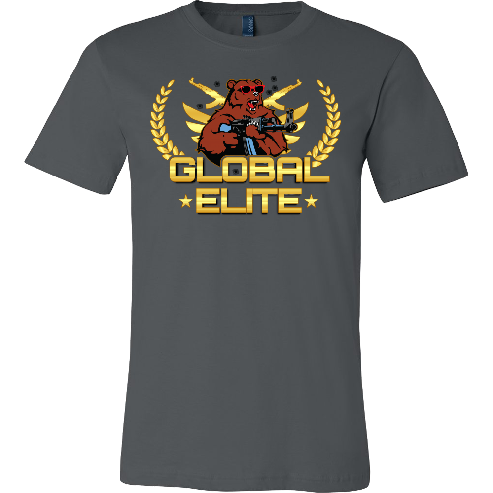 teelaunch T-shirt GLOBAL ELITE T-SHIRT