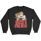 teelaunch T-shirt RUSH B DOG CREWNECK