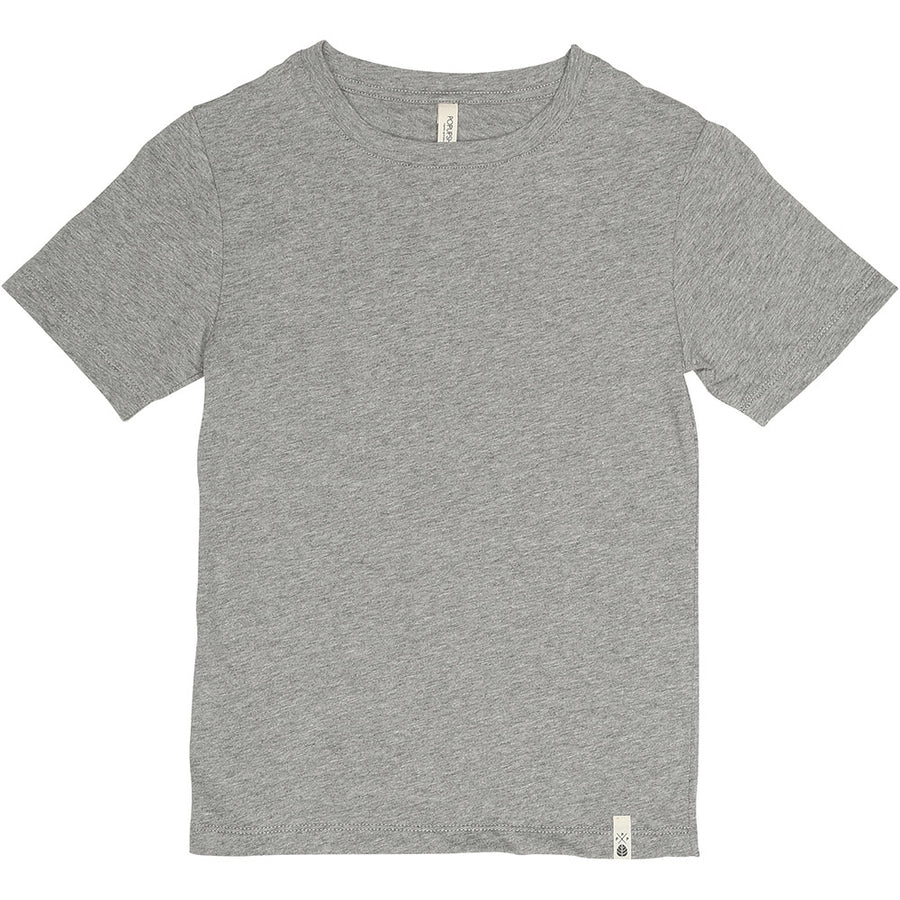 Short Sleeve T Shirt Grey Melange