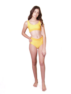 *PRE-SALE Byron Bikini Bottom in Sunshine
