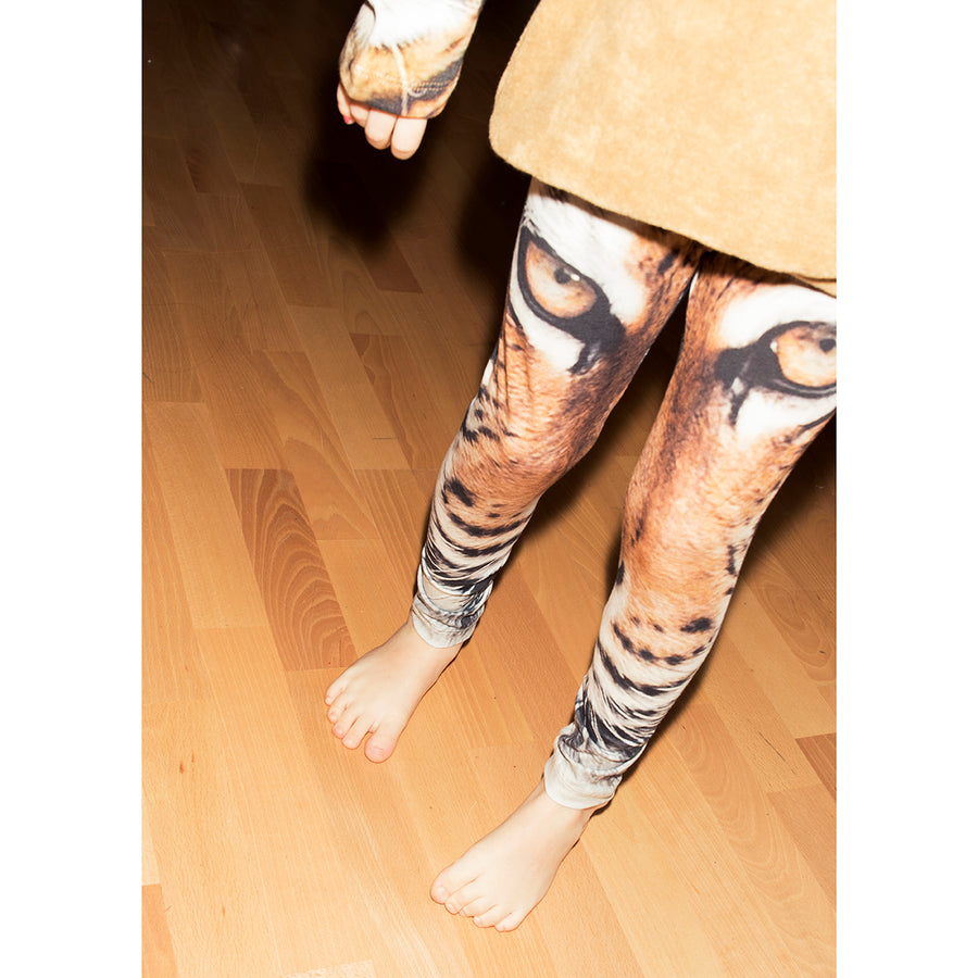 Tiger Leggings AOP (last size 9-12m)