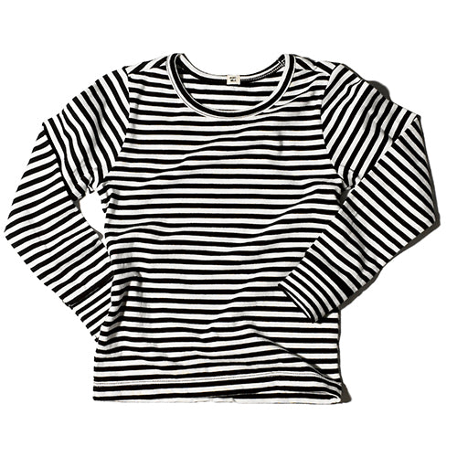 Goatmilk NYC Organic Baby Top Stripe (3m & 6m left)