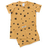 G.Nancy Ochre Star Shortie PJ Set (18m-3y & 7-9y left)