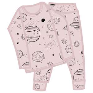 G.Nancy Rose Celestial Long PJ Set (last one 7-9y )