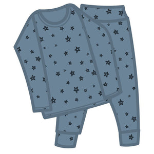G.Nancy Chalk Star Long PJ Set