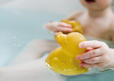 Natural Rubber Duck Bath Toy - Alfie