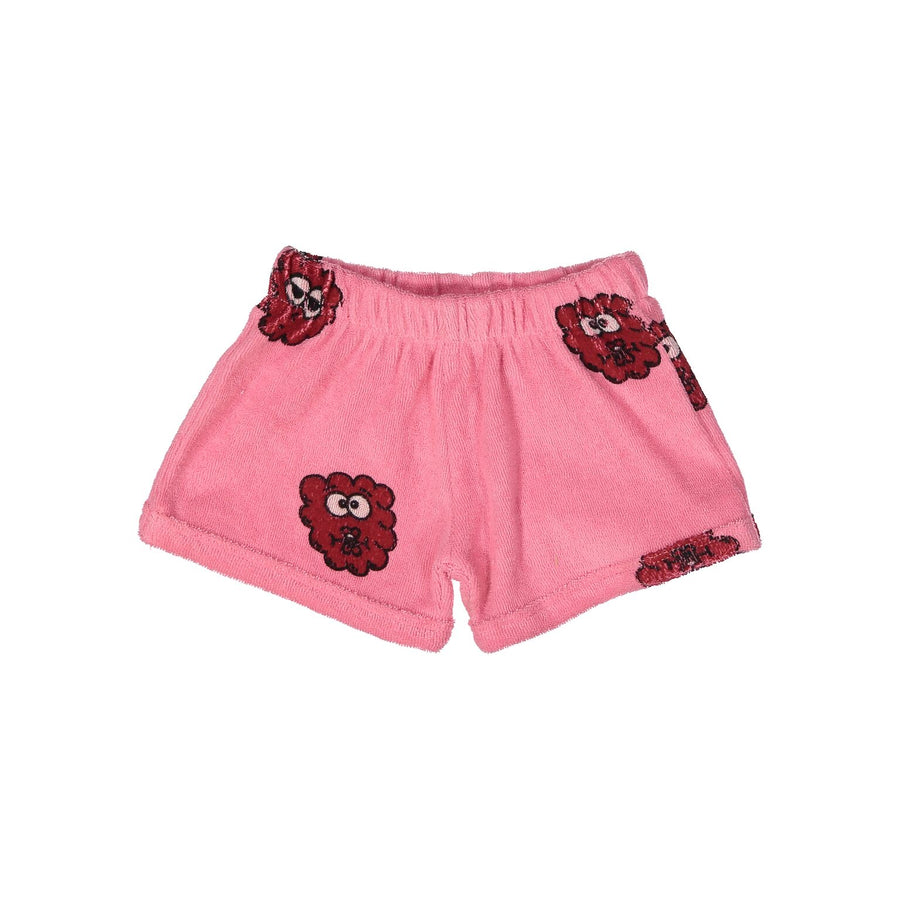 Hugo Loves Tiki Pink Raspberry Terry Shorties (last one - 6y)